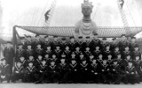 1943 - ROBERT GILLIES ABERCROMBIE, MIDDLE ROW 3 FROM RIGHT, HO CLASS.jpg