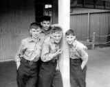1966, MAY - ROBERT NEWMAN, 84 RECR., HAWKE DIVISION, I'M 2ND FROM RIGHT.jpg