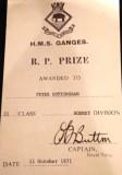 1970, 7TH OCTOBER - PETER COTTINGHAM, 21 RECR.,ANNEXE, LEANDER, THEN RODNEY, 21 CLASS, 9..jpg