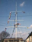 1972, 30TH MAY - PHILIP DAWSON, 34 RECR., DRAKE, 9 MESS, FLAG HOISTS-SIGNALS.jpg
