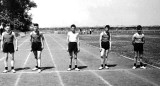 1960. 5TH JANUARY - TERRY REVELL, BENBOW, 31 MESS, 201 CLASS, ON THE SPORTS FIELD, C..jpg