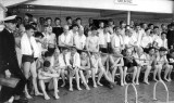 1960. 5TH JANUARY - TERRY REVELL, BENBOW, 31 MESS, 201 CLASS, SWIMMING POOL, A..jpg