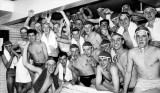 1960. 5TH JANUARY - TERRY REVELL, BENBOW, 31 MESS, 201 CLASS, SWIMMING POOL, D..jpg
