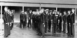 1950, 7TH JULY - MICHAEL WOOD, ANNEXE DIVISIONS BEING INSPECTED BY C-IN-C HOME FLEET, SIR HENRY MOORE.jpg