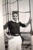 1961, 24TH APRIL - BRIAN SAMUELS, DRAKE, 37 MESS, 121 CLASS, UP THE MAST.jpg