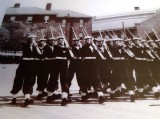1957 - DAVE GALE, 01 RECR., HAWKE, 48 MESS, GUARD MARCHES PAST.jpg