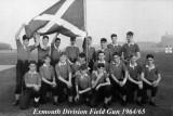 1964 - JIM LANE, EXMOUTH, 32 CLASS, 45 MESS, FIELD GUN CREW, JIM IS FRONT ROW 3RD LEFT.jpg