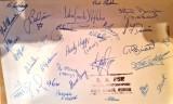 1975, DECEMBER - JIM MILLS, 964 CLASS, PASSING OUT PHOTO, REVERSE, NAMES-SIGNATURES, B..jpg