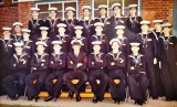 1975, DECEMBER - JIM MILLS, 964 CLASS, PASSING OUT PHOTO, SEE REVERSE FOR NAMES-SIGNATURES, A..jpg