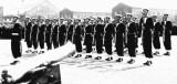 1961, 12TH SEPTEMBER - JOHN HILLS,  HAWKE, 343 CLASS, 48 MESS, GUARD AT PRESENT ARMS.jpg