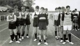 1965 - BRIAN CHESTER, COLLINGWOOD SPORTS DAY, BRIAN IS 3RD IN LANE ONE, THEY WON THE RELAY.jpg