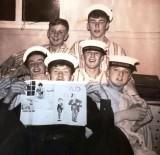 1966 - PETER HARRIS, 88 RECR., HAWKE, 49 MESS, I AM TOP RIGHT, COLIN KEMP IS BOTTOM RIGHT.jpg
