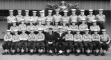 1961, 10TH OCTOBER - KEITH BRILL, 44 RECR., ANNEXE, AGINCOURT MESS, I AM MIDDLE ROW, SECOND LEFT.jpg