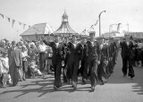1976, 7TH JULY - MARCHING TO THE CIVIC FAREWELL AT HARWICH TOWN HALL, B..jpg