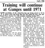 1966, APRIL - TRAINING WILL CONTINUE UNTILL 1971, FROM NAVY NEWS.jpg