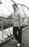 1964, NOVEMBER - ROBERT FOREMAN, KEPPEL 4 MESS, ON THE BOAT PIER.jpg