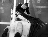 1966, 14TH NOVEMBER - CHRIS KNIGHT, 89 RECR., DUNCAN, 13 MESS, DUTTON CLIMBING THE RATLINES.jpg