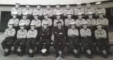 1957, APRIL - BRUCE EVANS, RODNEY, 271 CLASS, ANNEXE PHOTO, I AM NEXT TO THE BADGE BOY.jpg