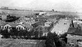 PRE 1907 - AERIAL VIEW OF THE Q.D. AND PARADE GROUND BEFORE IT WAS SURFACED AND THE TRAINING MAST STEPPED.jpg