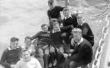 1957, 11TH JUNE - FREDERICK LOCK, DRAKE 62 CLASS, 40 MESS, I'M THE COXSWAIN, 02..jpg