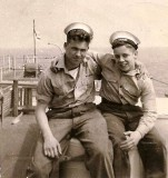 1959, 14TH JUNE - MICHAEL (JACK) HOBBS, COLLINGWOOD, 45 CLASS, SEA TRAING WITH TAB HUNTER ON HMS CHAPLET,  03..jpg