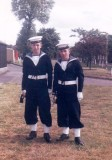 1960, 12TH JULY - ROBBIE BRIERLY, BLAKE, 251 CLASS, 4 MESS, WITH LANFEAR, SILVER BUGLERS, 04..jpg