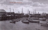 1907 - HARWICH PIER, WITH H.M.S. GANGES FAR RIGHT.jpg