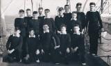1964 - CHRIS MCCORMICK, 67 RECR., COLLINGWOOD, 35 CLASS, ON THE PIER.jpg