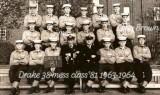 1963-64 - DAVID RUE, DRAKE, 38 MESS, 81 CLASS, MORE NAMES BELOW IN NOTE.jpg