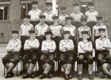 1950, 6TH JUNE - CARL LEMKES, BENBOW, 79 CLASS, THIS WAS TAKEN ON 28TH JUNE 1950 IN THE ANNEXE.jpg