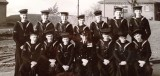 1954 - KEITH DRYSDALE SPENCER, BOY SIGNALMEN'S CLASS AFTER PASSING OUT, INSTR. POSSIBLY CHIEF YEOMAN COVERDALE, 03..jpg