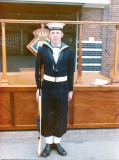 1974, 5TH MARCH - PETER HEGGIE, 242 CLASS, 8 MESS, AFTER CAPTAINS GUARD.jpg