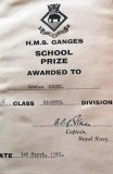1964, 24TH MARCH - GRAHAM RIGBY, 66 RECR., EXMOUTH, 26 CLASS, SCHOOL PRIZE.jpg