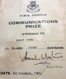 1966, NOVEMBER - EDDIE BURKE, 89 RECE., EXMOUTH, 291 CLASS, COMMUNICATIONS PRIZE [RODNEY IS INCORRECT].jpg