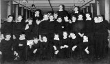 1960, APRIL - MICHAEL PIKE, COLLINGWOOD DIVISION, 242 CLASS, MICHAEL PIKE 4TH FROM LEFT FRONT ROW.jpg