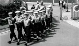 1970, 18TH MAY - ANDY FERN, 18 RECR., MARCHING OUT OF THE ANNEXE, 02..jpg