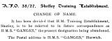 1927, JANUARY - RNTE SHOTLEY BECOMES HMS GANGES, A.F.O. 38.jpg