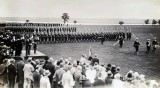1929 - KINGS BIRTHDAY REVIEW, THE GUARD MARCH PAST..jpg