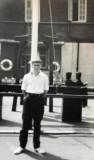 1971 - RAY LAMB, 24 RECR., HAWKE, 3 MESS, ON THE QUARTER DECK.jpg