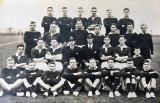 1934, 5TH MARCH - FRANK SEWELL, SECOND FROM RIGHT TOP ROW.
