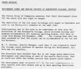 1986, NOVEMBER - DICKIE DOYLE, PROPOSED PRESS RELEASE FROM JACK HUTCHINSON, OF POTTEN'S.jpg