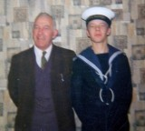 1975 - JAMES BROCKI, PASSING OUT DAY WITH FATHER..jpg