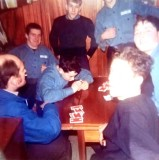 1972-73 - MICHAEL PAGE, 02, WHILST SHIPS COMPANY TOOK JUNIORS ON EXPED TO NORFOLK BROADS.