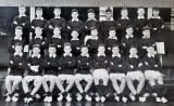 1952, NOVEMBER - BRIAN HILL, JELLICOE 2 ANNEXE MESS, I AM 2ND FROM RIGHT BACK ROW, THEN ANSON, 49-50 CLASS, 24 MESS..jpg
