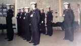 1975, 28TH OCTOBER - JAMES MARKLEW, LEANDER, 953 CLASS, 28 MESS, PIPING PARTY, I'M AT THE FRONT..jpg
