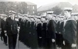 1972, 4TH SEPTEMBER - STEVE SHERBIE BARRETT, 37 RECR., HAWKE, 38 MESS, DIVISIONS BEING INSPECTED BY ADMIRAL, R..jpg