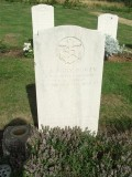 1973, 31ST JANUARY - GARRY FRASER, HEADSTONE OF INSTR. CPO EDGAR A. 'EGGY' BOWEN, HE SADLY CTB ON THIS DATE.jpg