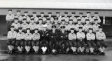 1956, JANUARY - PETER GALLANT, ANNEXE MESS BEFORE MOVING OVER TO BLAKE 6 MESS..jpg