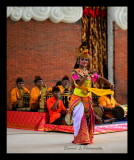 Performer of traditional dance at GWK Cultural Park