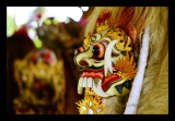 Traditional Barong mask
